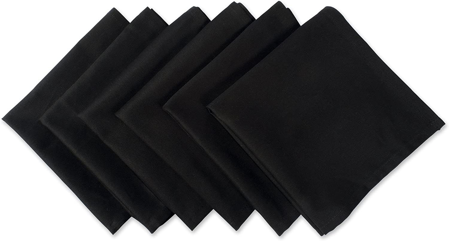 18x18 Inch Poly Cotton Soft Restaurant Napkins Durable Hotel Quality Ideal for Events 12 Pack ZOYER Cotton Dinner Napkins