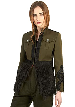 The Extreme Collection® -Chaqueta Blazer Color Verde Estilo ...