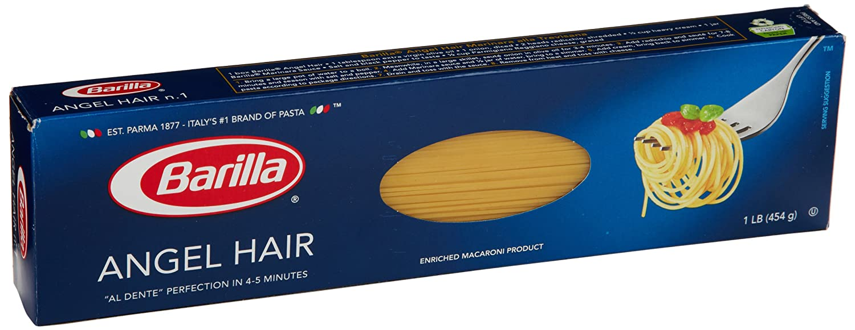 Amazon Com Barilla Pasta Angel Hair 16 Ounce Prime Pantry