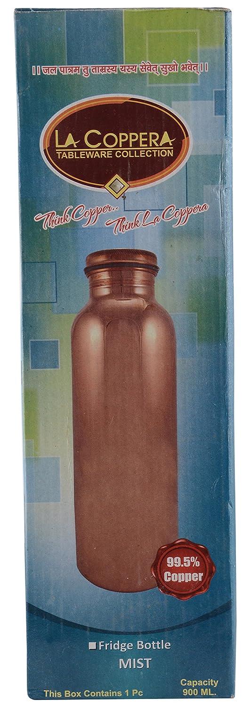 La Coppera Copper Water Bottles 0.9 Liters Metallic Amazon.in Home u0026 Kitchen & La Coppera Copper Water Bottles 0.9 Liters Metallic: Amazon.in ...