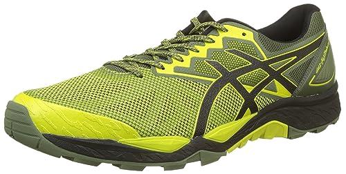 Gel-Fujitrabuco 6, Zapatillas de Running para Hombre, Amarillo (Sulphur Springblackfour Leaf Clover 8990), 40 EU Asics