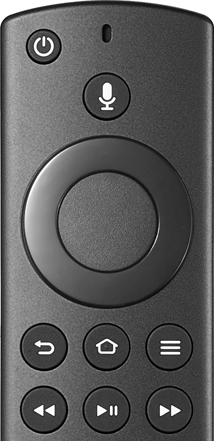 Fire TV Edition Replacement Remote for Insignia and Toshiba Black Insignia