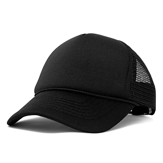 3897bdef01dbf DALIX Baby Girls Boys Toddler Cap Trucker Hat Caps Childrens Infant Kids  Hats (Black)