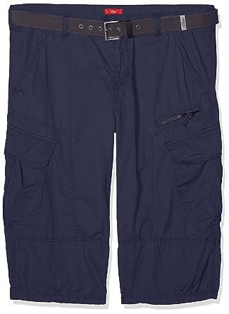 s.Oliver Big Size Herren Shorts 15703745164, Blau (Indigo 5875), W44