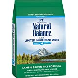 Natural Balance Limited Ingredient Diets Dry Puppy Food, Lamb & Brown Rice, 12 Pounds (Discontinued by Manufacturer)