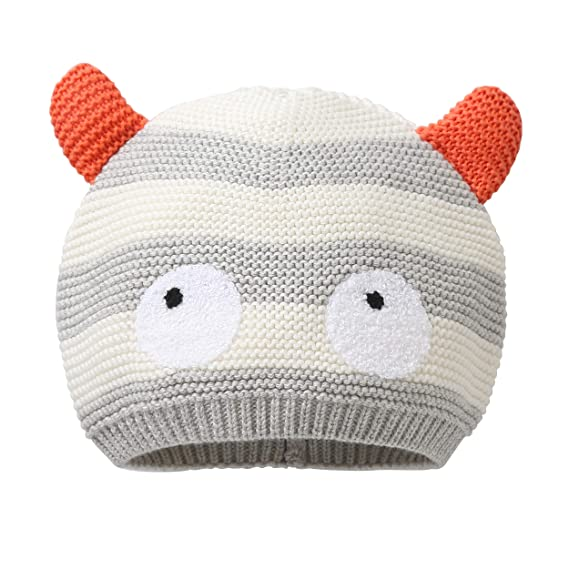 Animque Winter Strickmütze Für Baby Kinder Süß Und Lieblich 6 Monate