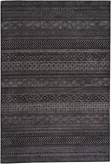 """product image for Capel Rugs Channel 7' 10"""" x 10' 10"""" Machine Woven Rug - Onyx"""