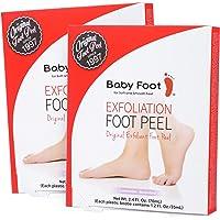 Baby Foot Exfoliant Foot Peel, Lavender Scented, 2.4 Fl. Oz.(2 pack)