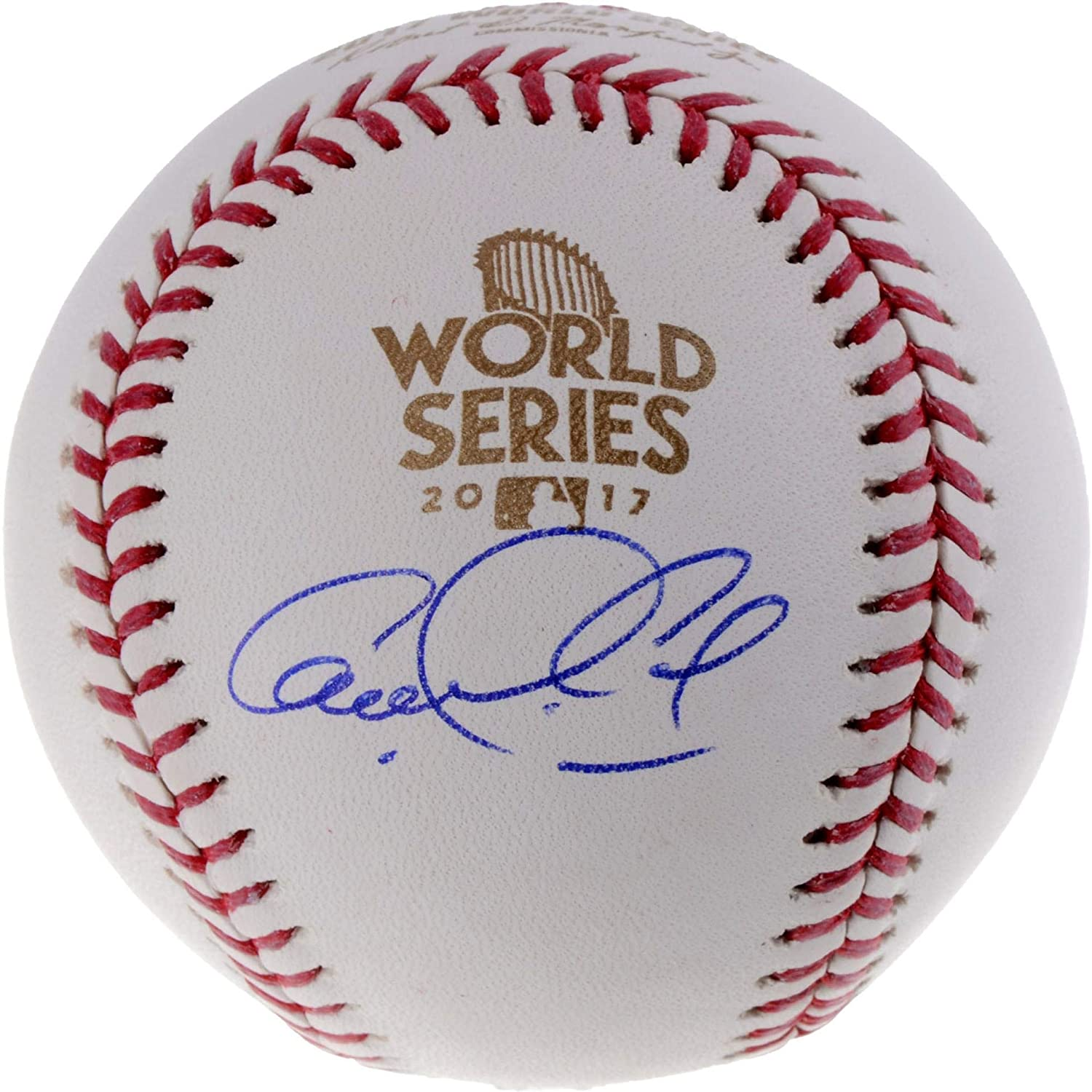 Carlos Correa Houston Astros Autographed 2017 World Series Logo Baseball - Fanatics Authentic Certified