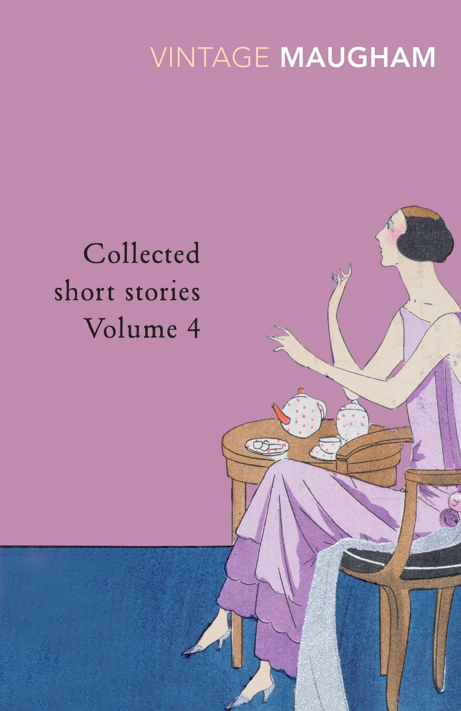 Volume 3 by William Somerset Maugham Paperback Book The Książki antykwaryczne Collected Short Stories