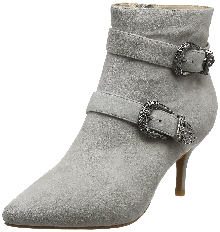 Shoe The Bear ANN S, Botines para Mujer36 EU Gris (Grey)