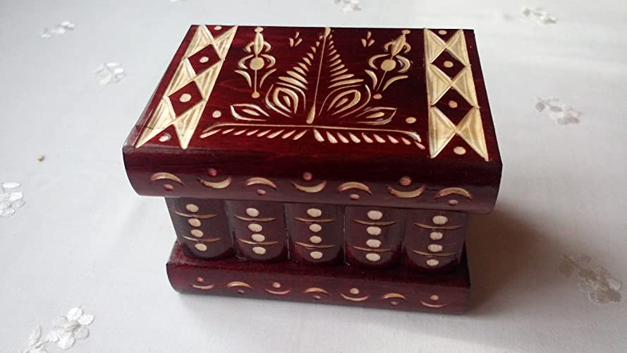 556955d0f69f85 Amazon.com  New red beautiful special handcarved