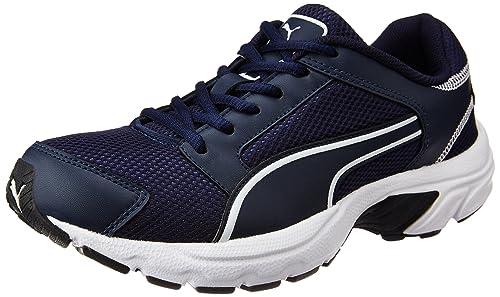 Puma Men s Splendor Dp Dark Denim and White Running Shoes - 10 UK India ( c01bc5fb3