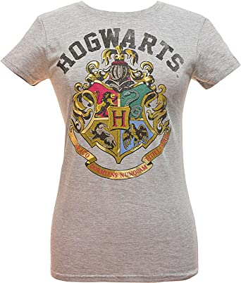 Harry Potter Girls Hogwarts Crest T-Shirt