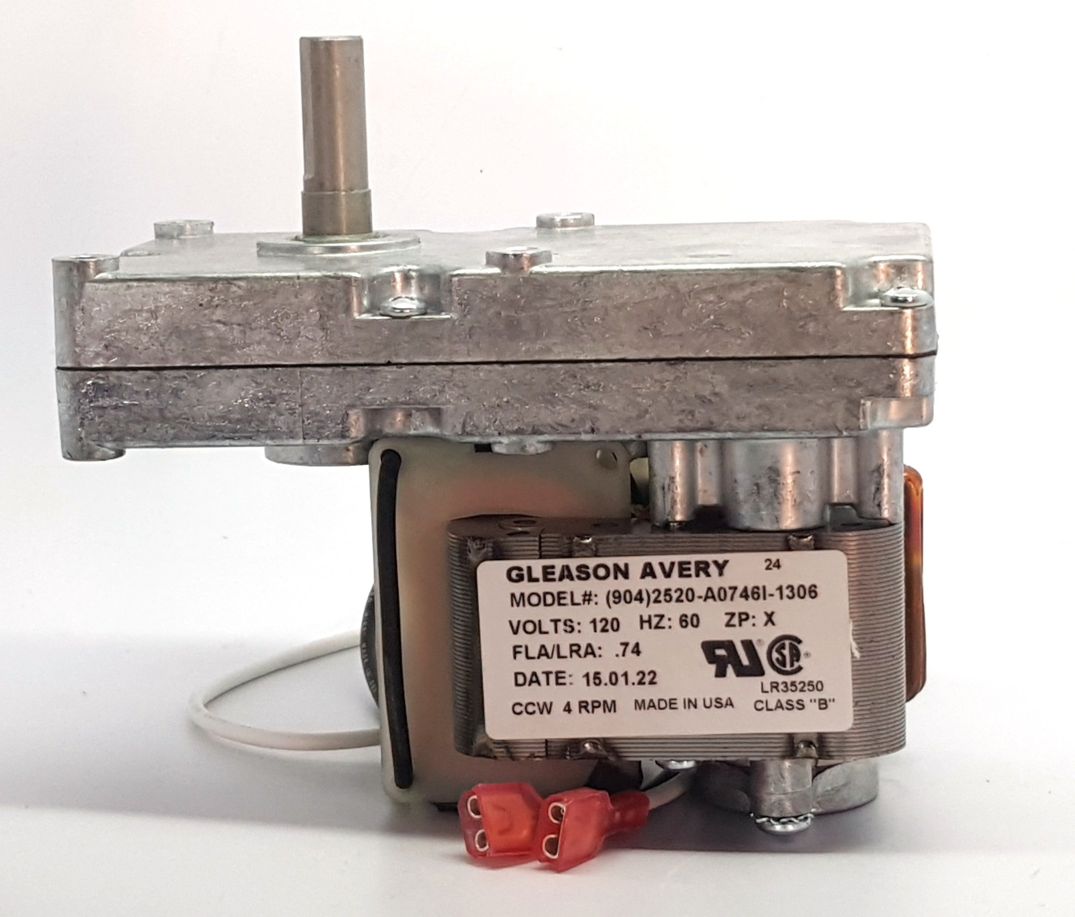 Harman pellet stove auger motor for -Advance-Accentra-XXV-3-20-08752 by Harman