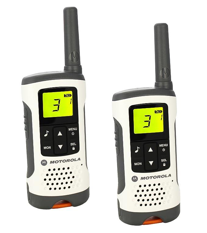 150 opinioni per Motorola T50 Walkie Talkie 8channels two-way radio- Two-Way Radios (8 channels,