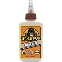 Gorilla 6202001 Wood Glue, Tan, 118ml