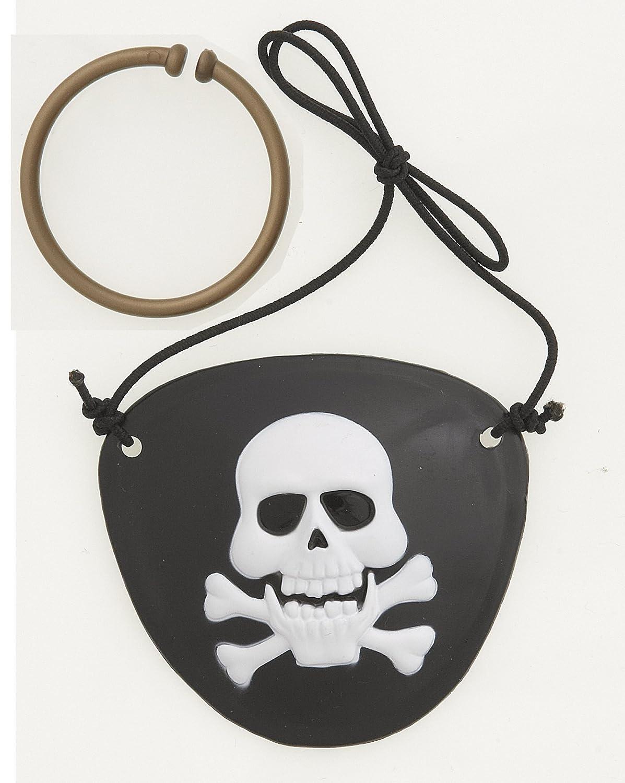 Paquet de 10 Unique Party 61939 Accessoires Pirates pour Photomaton