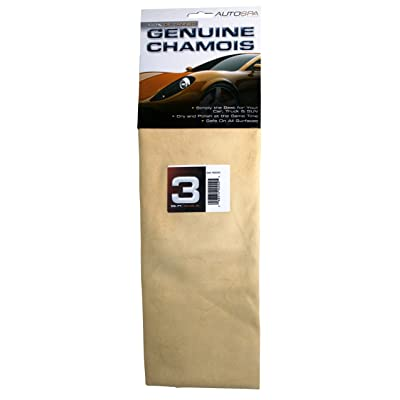 Carrand 40202AS AutoSpa Genuine Full Skin Chamois, 3 sqft: Automotive