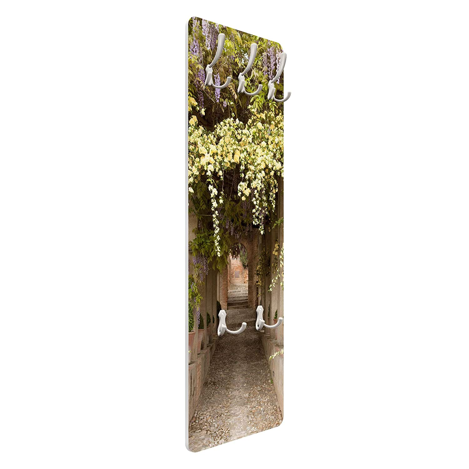 Bilderwelten Perchero Panel Mural Gancho De Pared Flowers Lined Way In Spain 139 x 46cm