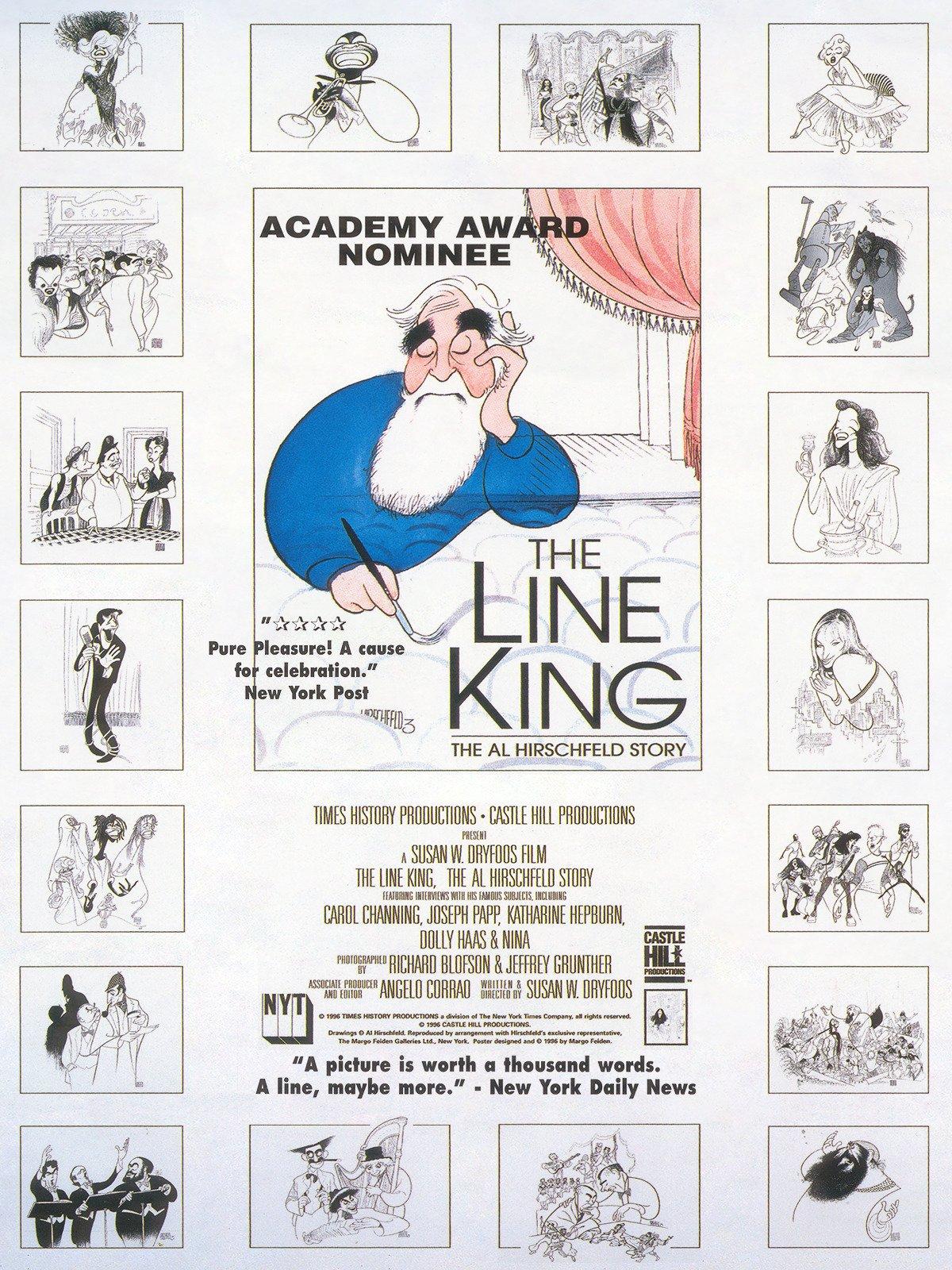 Amazon com: Watch The Line King: The Al Hirschfeld Story | Prime Video