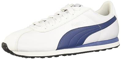 22e9f3b36bbf9a Puma Men s Turin Nl Puma White and Puma Black Sneakers - 11 UK India ...