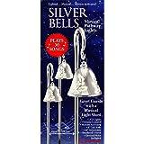 musical silver bells pathway lights
