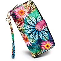 LOVESHE Women's New Design Bohemian Style Purse Clutch Bag Card Holder New Fashion Wristlets Wallets