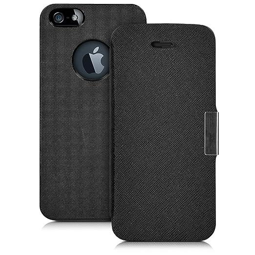 167 opinioni per kwmobile Cover per Apple iPhone SE / 5 / 5S- Custodia protettiva apribile a