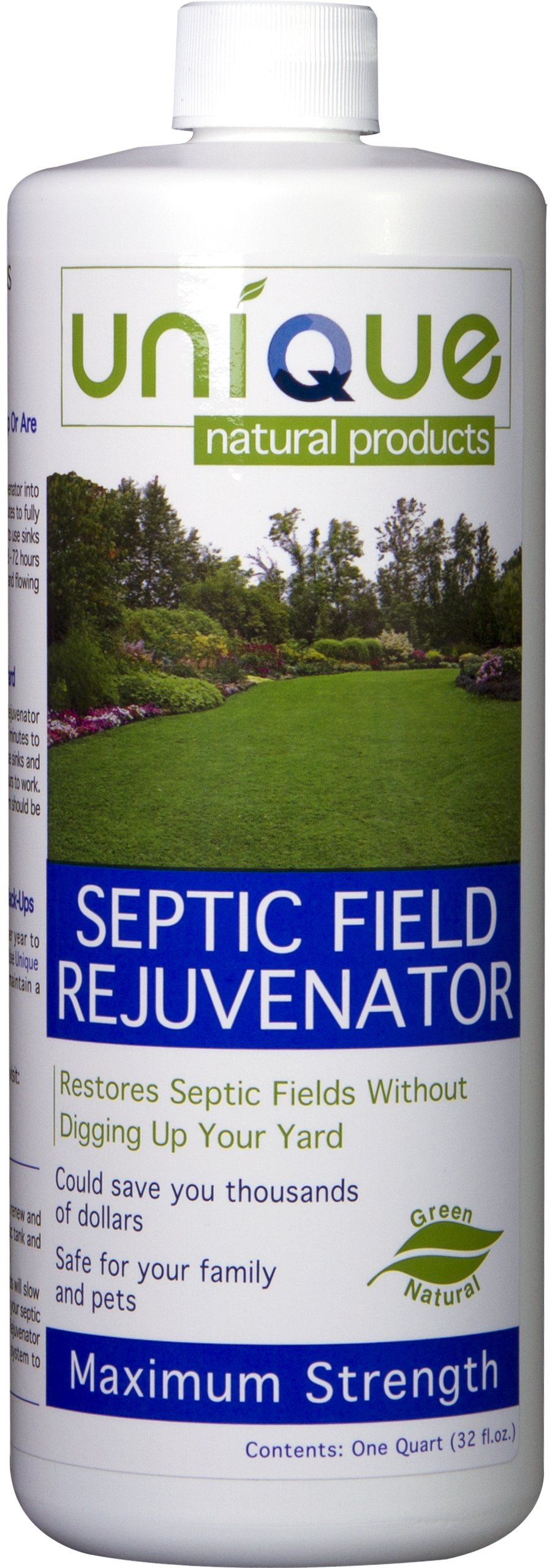 Unique Natural Products Septic Field Rejuvenator, 32-Ounce
