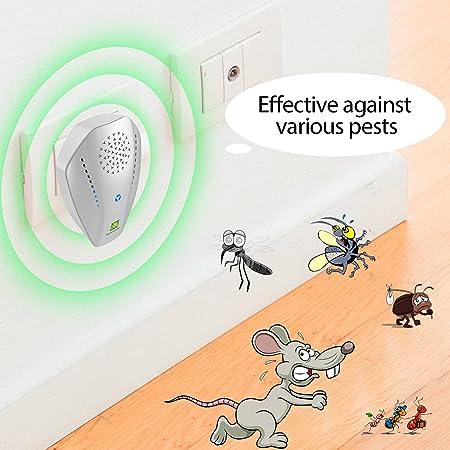 JungeTOGO Repelente de mosquitos, repelente de insectos Neatmaster electrónico, repelente de insectos, control de plagas para carretera, ratón, araña, ...