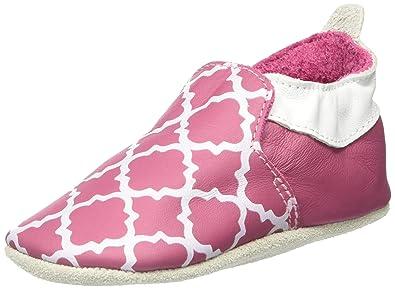 Bobux Fliesenmuster Pink, Mocasines para Bebés: Amazon.es: Zapatos y complementos