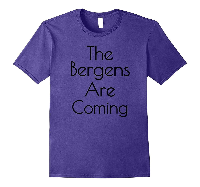 The Bergens Are Coming T-Shirt! Fun Movie Kids Trolls-FL