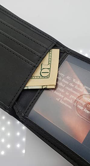 Amazon.com: AG Wallets - Cartera de piel sintética para ...