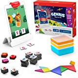 Osmo - Genius Starter Kit for iPad + Family Game Night - 7 Hands-On Learning Games for Spelling, Math & More - Ages 6-10…