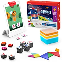 Osmo 901-00031 - Genius Starter Kit for iPad + Family Game Night - 7 Hands-On Learning Games for Spelling, Math & more…