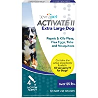 TevraPet Activate II Flea and Tick Prevention for Dogs