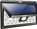 LITOM Original Solar Lights Outdoor, 3 Optional Modes Wireless Motion Sensor