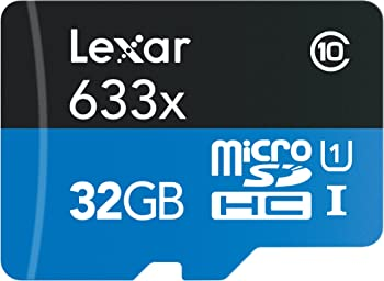 Lexar High Performance 633X 32GB MicroSDHC Card