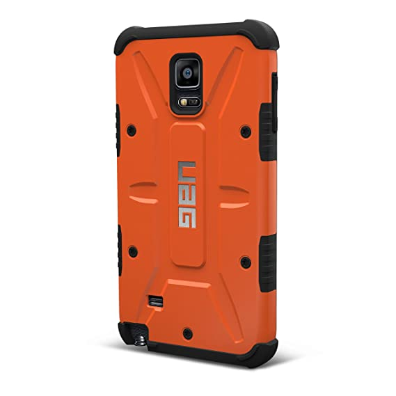 new concept a3449 14dbf UAG Samsung Galaxy Note 4 Feather-Light Composite [Rust] Military Drop  Tested Phone Case