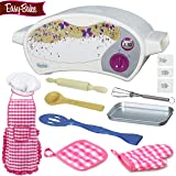 BlueberryGifts Easy Bake Oven Star Edition Bundle Includes Backing pan, Pan tool, with Instructions,7 PCS Kid Play Set.