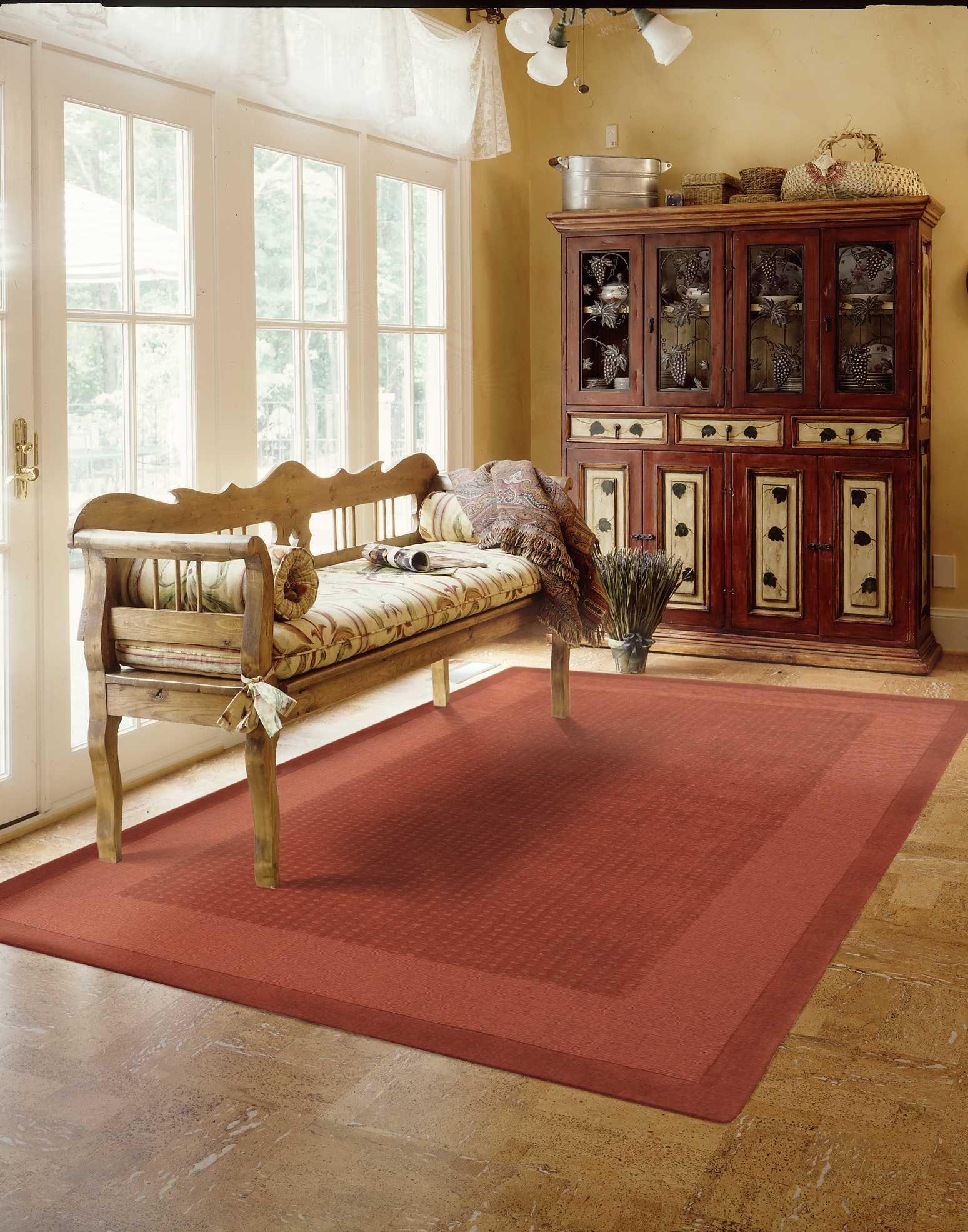 Nourison Westport (WP20) Spice Rectangle Area Rug, 5-Feet by 8-Feet  (5' x 8')