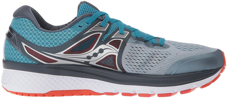Saucony - Zapatillas de running para hombre gris Grey/Blue/Red ...
