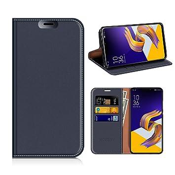 cheap for discount 2e978 75926 MOBESV Asus ZenFone 5 ZE620KL Wallet Case, Zenfone 5Z: Amazon.co.uk ...