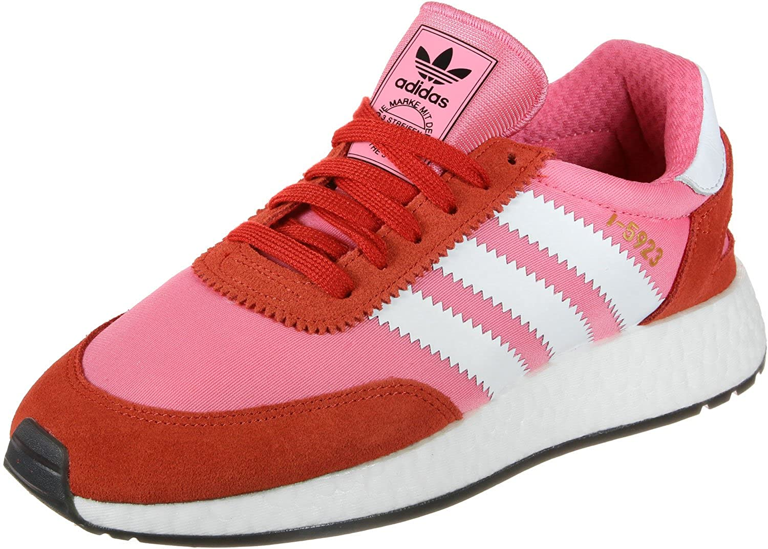 Adidas I 5923 W Chalk Pink White Bold Orange 37: Amazon.it