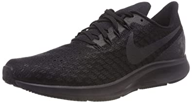 NIKE Mens Air Zoom Pegasus 35 Running Shoe Black/Oil Grey/White Size 10.5