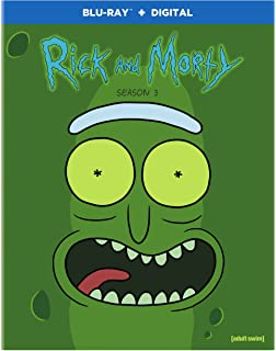 c5df0e9852f503 Amazon.com  Rick   Morty  Season 1  Blu-ray   Various  Movies   TV