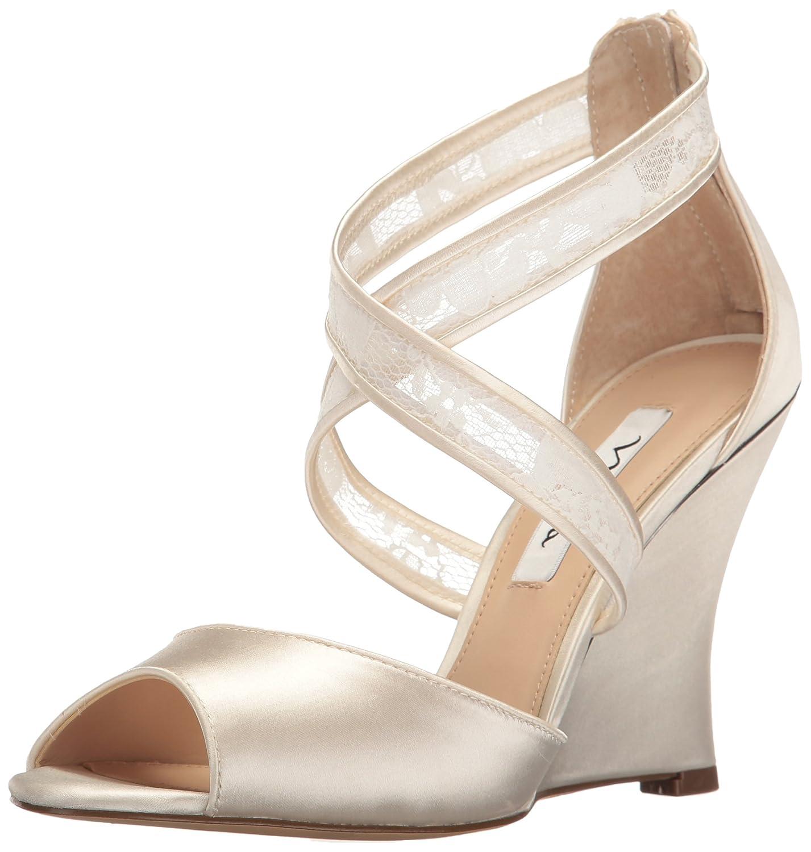 d332d174ca3380 Nina Women s Elyana Wedge Sandal