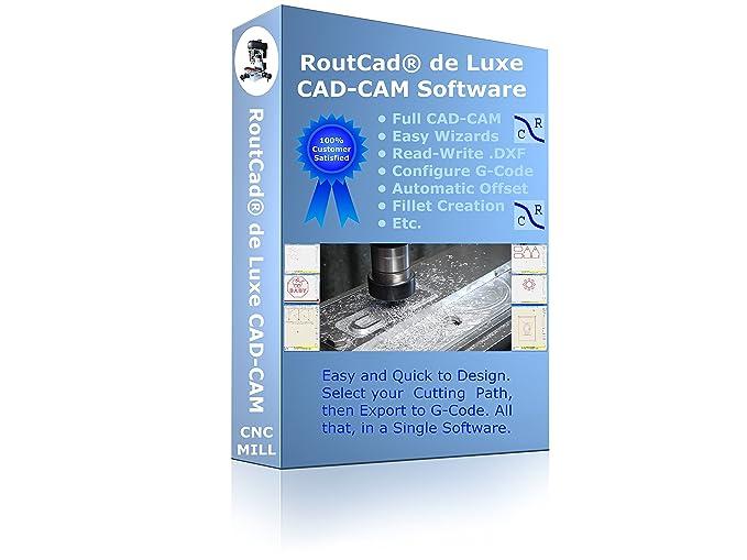 Amazon com: RoutCad de Luxe CAD-CAM Software CNC Mill