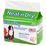 "IRIS Neat 'n Dry Premium Pet Training Pads, Extra Large, 23.5"" x 35.5"""